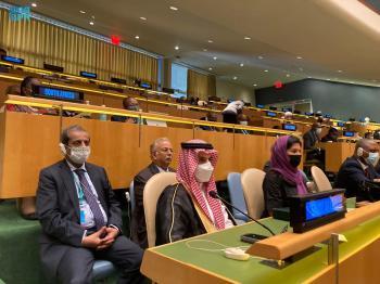 نشاط دبلوماسي سعودي واسع بالجمعية العامة للأمم المتحدة