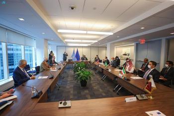 وزير الخارجية يشارك في اجتماع ترويكا مجلس التعاون مع «الأوروبي»