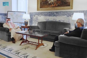 الأمير سعود بن عبدالمحسن يٌقدّم أوراق اعتماده سفيرًا بالبرتغال