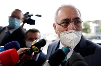 إصابة وزير الصحة البرازيلي بكورونا في نيويورك