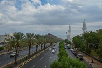 تنبيه بهطول أمطار رعدية على المدينة المنورة