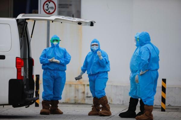 روسيا : 820 وفاة بكوفيد-19