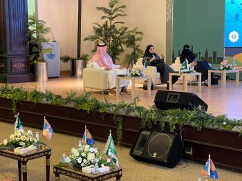 النموذج السعودي في التعامل مع الجائحة بـ«الندوة الوطنية»