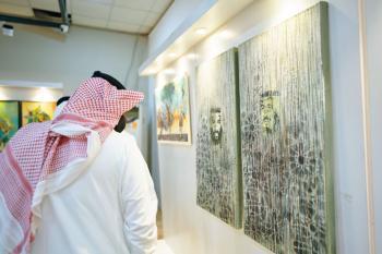 28 فنانا و30 لوحة بمعرض «ثقافة الدمام»