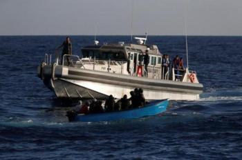 حرس الحدود التونسي ينقذ 77 مهاجراً غير شرعي