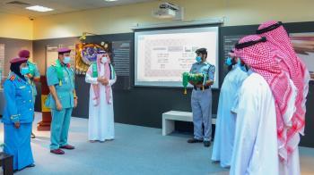 شرطة الشارقة تحتفي باليوم الوطني تحت شعار «السعودية والإمارات.. معاً أبداً»