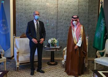 وزير الخارجية يلتقي المبعوث الأمريكي لشؤون إيران