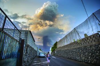 منزل ينجو بأعجوبة من بركان «لا بالما»