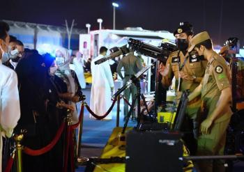مسيرة أمنية.. «الداخلية» تشارك في الاحتفال باليوم الوطني