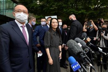 مديرة هواوي تغادر كندا بعد اتفاق مع السلطات الأمريكية