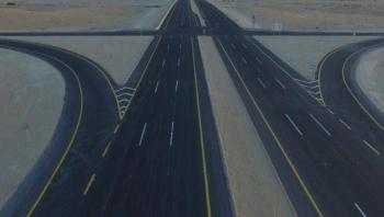 «النقل» تواصل أعمال مشروع طريق الخرج و«الرياض _ الدمام» السريع
