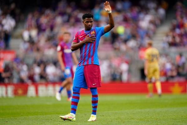فاتي يزين انتصار برشلونة على ليفانتي