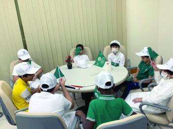 «إبصار» تعزز الهوية الوطنية للأطفال في «هي لنا دار»