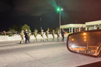 احتجاز 14 جنديا مكسيكيا عبروا الحدود الأمريكية بالخطأ