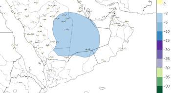 الطقس : استمرار الرياح النشطة المصحوبة بأنخفاض في درجات الحرارةعلى أجزاء من شرق ووسط المملكة