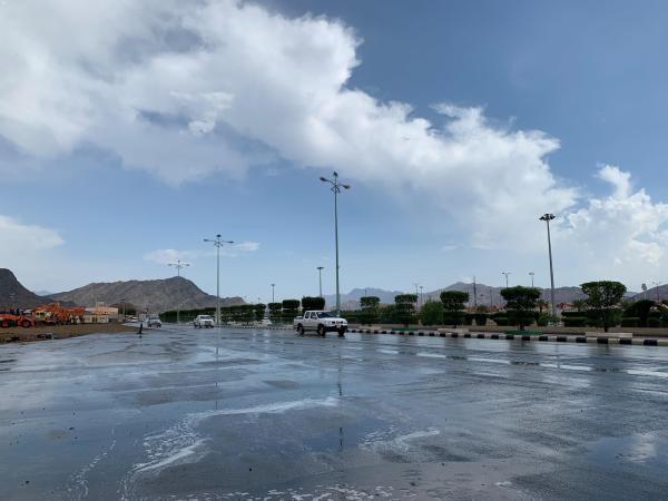 أمطار رعدية على عسير حتى الـ 8 مساءً
