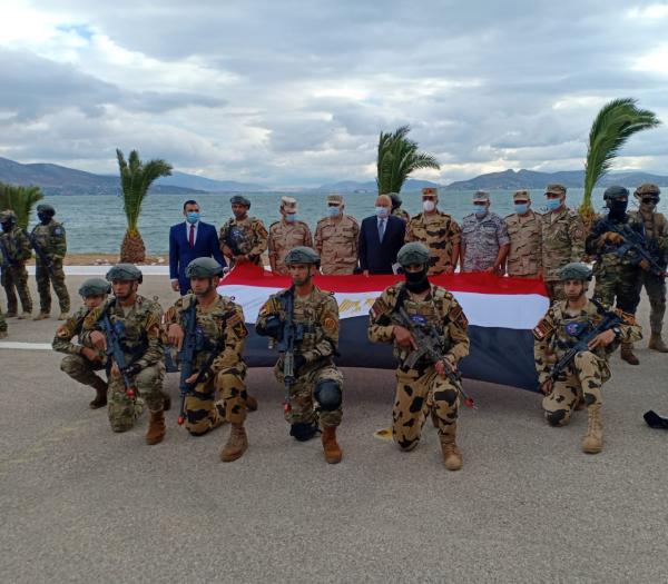 «هرقل 21» تدريب عسكري مشترك للقوات المسلحة المصرية واليونانية