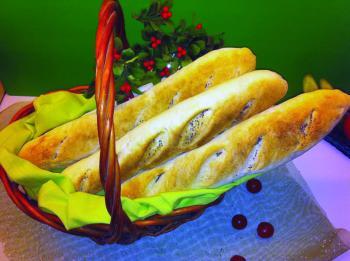 خبز «العكروت» في الإليزيه