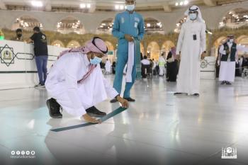 لتوفير سبل الراحة.. استحداث 25 مسارًا بالمسجد الحرام