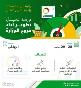وزارة الرياضة تُنظم ورشة عمل لمدراء فروعها في مناطق المملكة