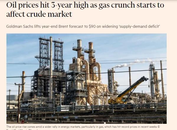 ارتفاع أسعار الغاز يعصف بأسواق العالم