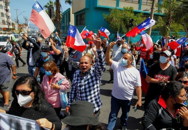 شاهد.. مأساة المهاجرين الفنزويليين في تشيلي