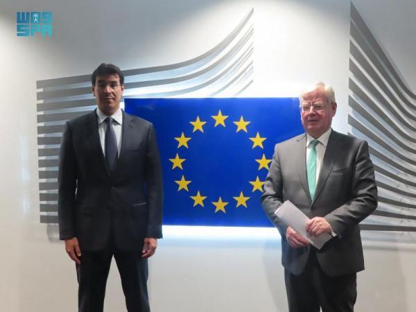 «العواد» يستعرض مع مسؤول أوروبي تطورات حقوق الإنسان بالمملكة