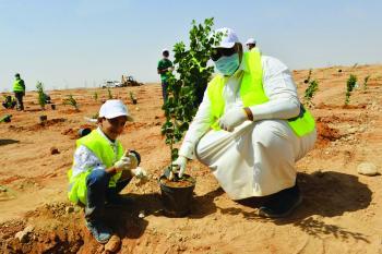 حضور لافت لأهالي الرياض في «الخريطة الخضراء»