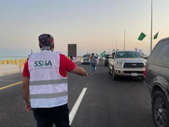 100 متطوع من الشرقية في «تحيا السعودية 2»