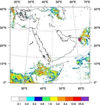 الأرصاد : أمطار رعدية وعوالق ترابية على مناطق المملكة
