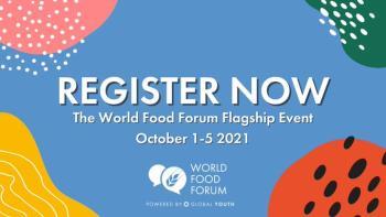 انعقاد المنتدى العالمي الأول للغذاء والتغذية مطلع أكتوبر