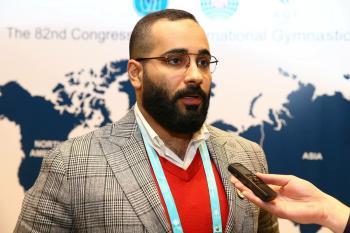 الفهيد يمثل السعودية في الكونجرس الآسيوي للجمباز