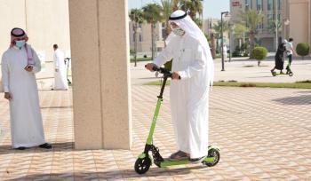 جامعة الإمام عبدالرحمن.. دراجات بالطاقة الشمسية لـ«التنقل الذكي»