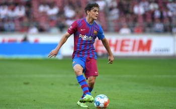 جابي لاعب برشلونة الصاعد ينضم بشكل مفاجئ لتشكيلة إسبانيا