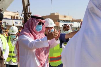 3 مشروعات جديدة لتصريف مياه الأمطار بحفر الباطن