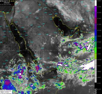 الأرصاد: فرصة مهيأة لهطول الأمطار على 4 مناطق