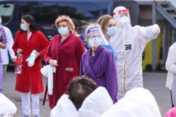 حريق بمستشفى مخصص لمصابين كورونا يقتل 9 برومانيا