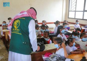 مركز الملك سلمان يدشن مشروعاً جديداً لدعم الأطفال بعدن