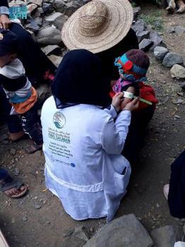 استفادة 23900 شخصاً من مشروع التغذية باليمن خلال أسبوع