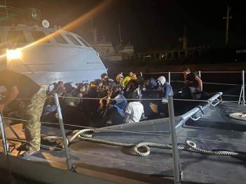 السلطات الليبية تنقذ 89 مهاجرا غير شرعي