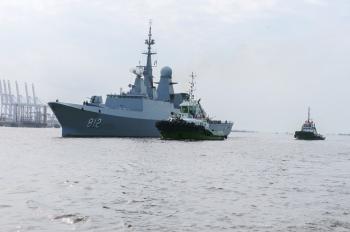 «البحرية السعودية» تصل إلى باكستان لتنفيذ تمرين «نسيم البحر 13»
