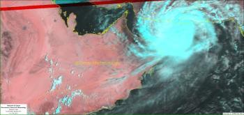 التحذير «رقم 2».. بدء تأثيرات إعصار «شاهين» في عمان