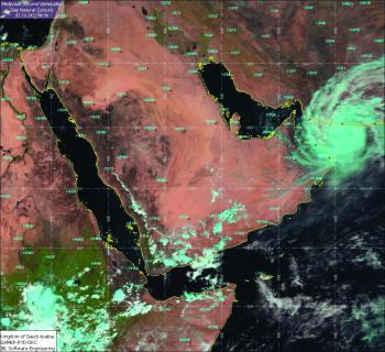 أمطار ورياح نشطة.. «شاهين» يضرب جنوب «الشرقية» خلال ساعات