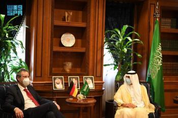 الجبير يستعرض العلاقات مع نائب وزير الخارجية الألماني