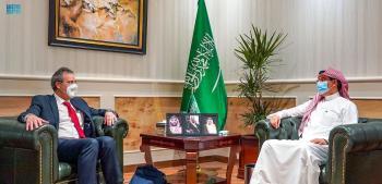 «العواد» يبحث التعاون مع نائب وزير الخارجية الألماني
