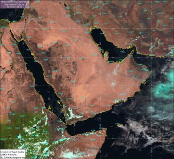 طقس اليوم .. أمطار رعدية ورياح على مناطق المملكة