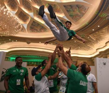 مجيد ينتزع أولى ميداليات السعودية في أثقال العالم
