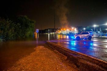 تضرر العشرات نتيجة الأمطار بولاية ألاباما الأمريكية