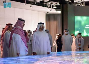 الأمير تركي بن محمد بن فهد ينقل تحيات القيادة لولي عهد أبو ظبي