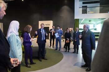 وزير التجارة يطّلع على المشاريع الرائدة خلال زيارته للسويد